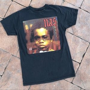 Vintage Nas Illmatic Hip Hop Concert Shirt